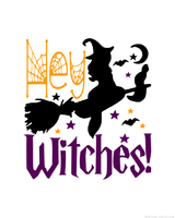 14 Fun Witchy Halloween Signs or Wall Hangings