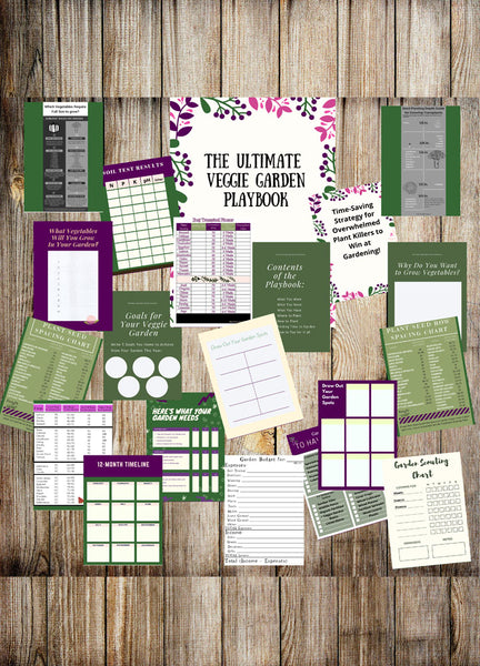 Ultimate Vegetable Garden Playbook