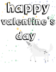 Unicorn Valentine Coloring Sheets