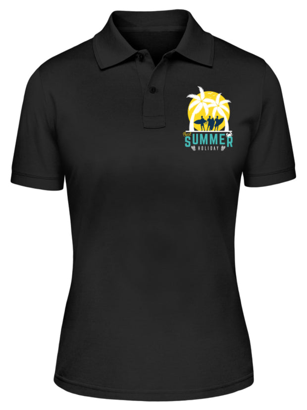 BEST SUMMER HOLIDAY  - Damen Poloshirt - Shirt Exklusive