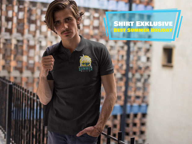 BEST SUMMER HOLIDAY  - Polo Shirt - Shirt Exklusive