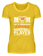 I AM A PROUD MOM OF A FREAKING AWESOME  - Damenshirt - Shirt Exklusive