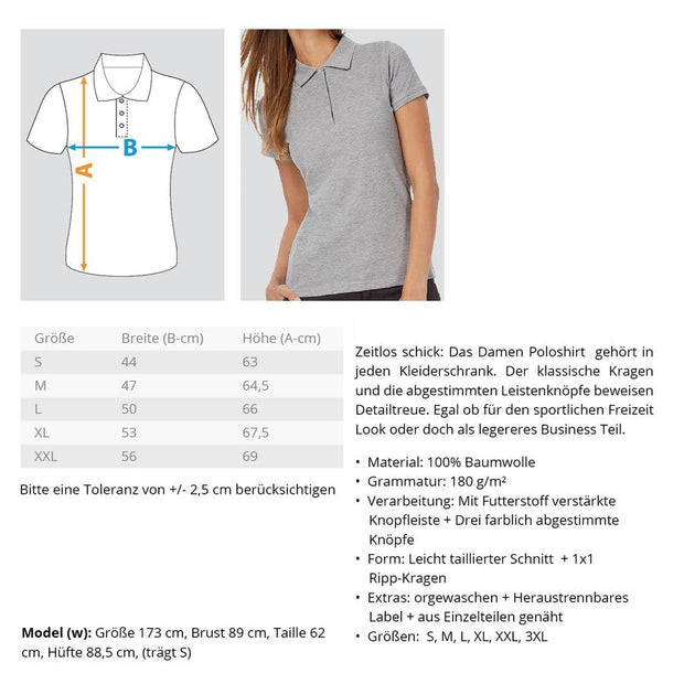 BEACH PARTY EVERY NIGHT  - Damen Poloshirt - Shirt Exklusive