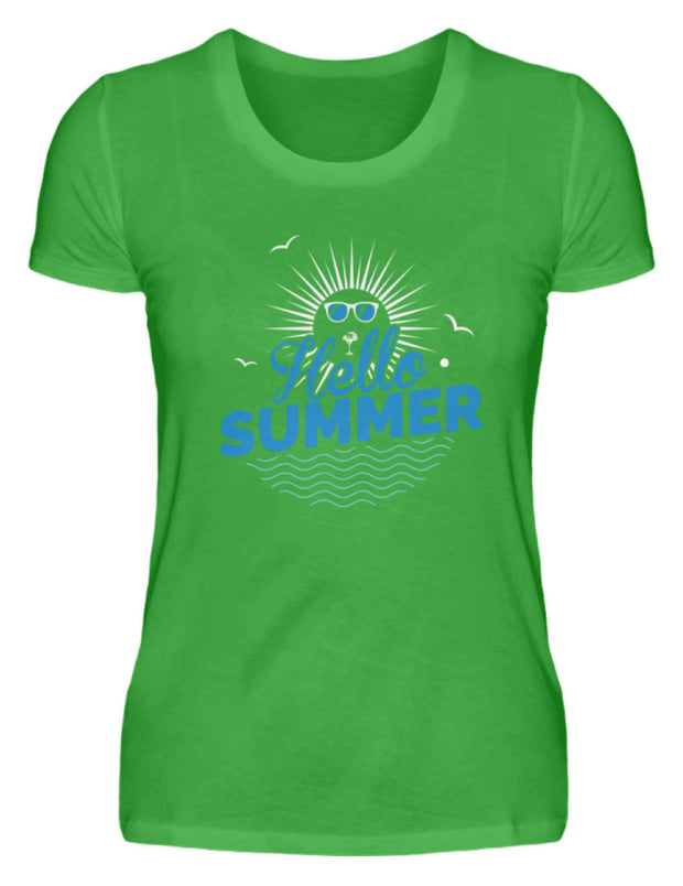 HELLO SUMMER  - Damenshirt - Shirt Exklusive