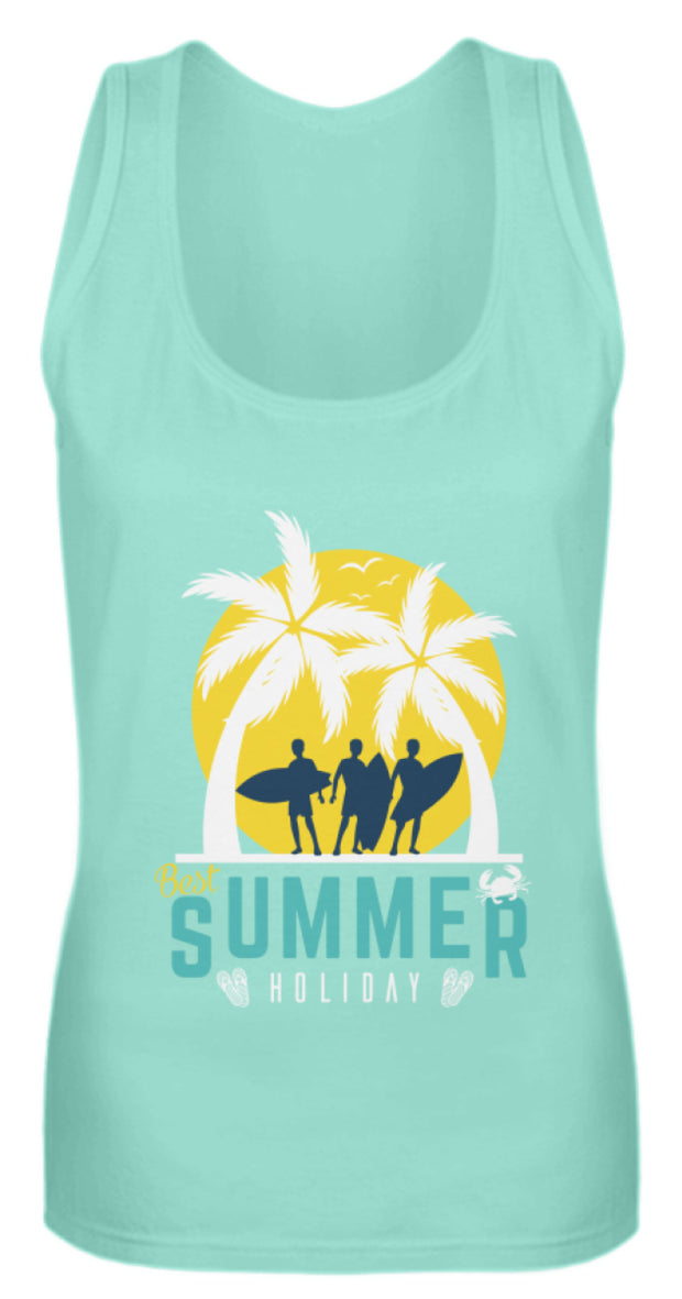 BEST SUMMER HOLIDAY  - Frauen Tanktop - Shirt Exklusive