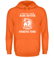 A BAD DAY CAN BE MADE BETTER - Unisex Kapuzenpullover Hoodie - Shirt Exklusive