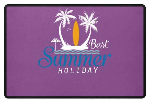 BEST SUMMER HOLIDAY  - Fußmatte - Shirt Exklusive