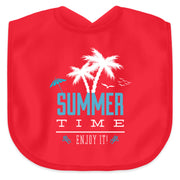 SUMMER TIME ENJOY IT  - Baby Lätzchen - Shirt Exklusive