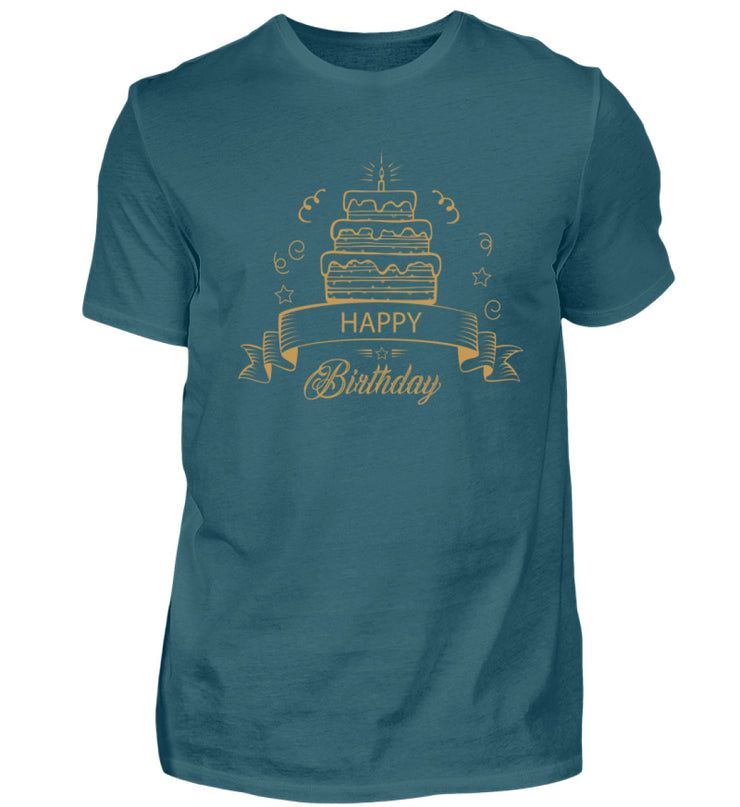 Happy Birthday Cake - Shirt Exklusive