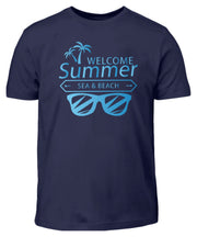 WELCOME SUMMER SEA AND BEACH  - Kinder T-Shirt - Shirt Exklusive