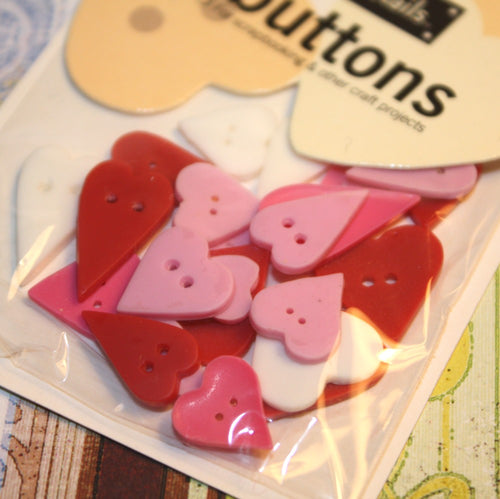 Heart Button Variety