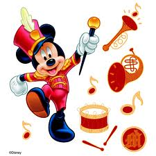 Disney Dimensional Stickers - Mickey Parade