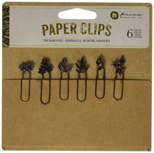 Load image into Gallery viewer, Decorative Paper Clips - Floral