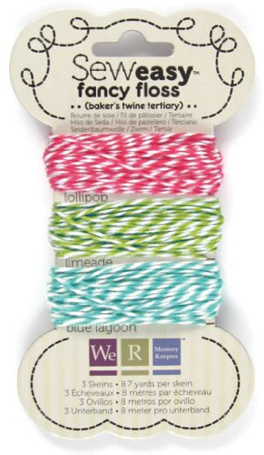 Sew Easy Fancy Floss - Bakers Twine - Tertiary