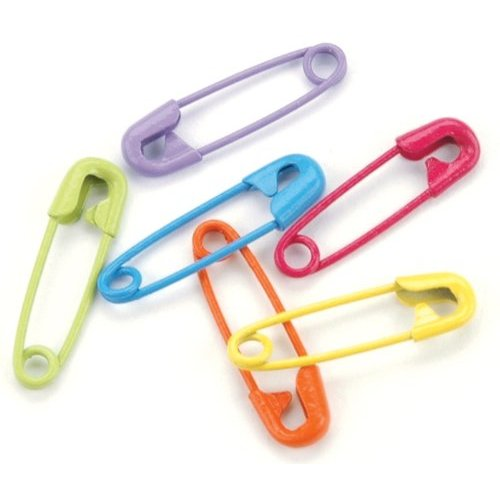 Colorful Safety Pins - Tropical