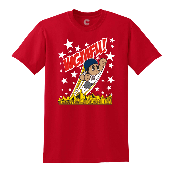 Astro Slayter Red Tee + Digital Album