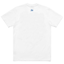 Load image into Gallery viewer, SLAYTER X CARROTS WHITE/BLUE TEE