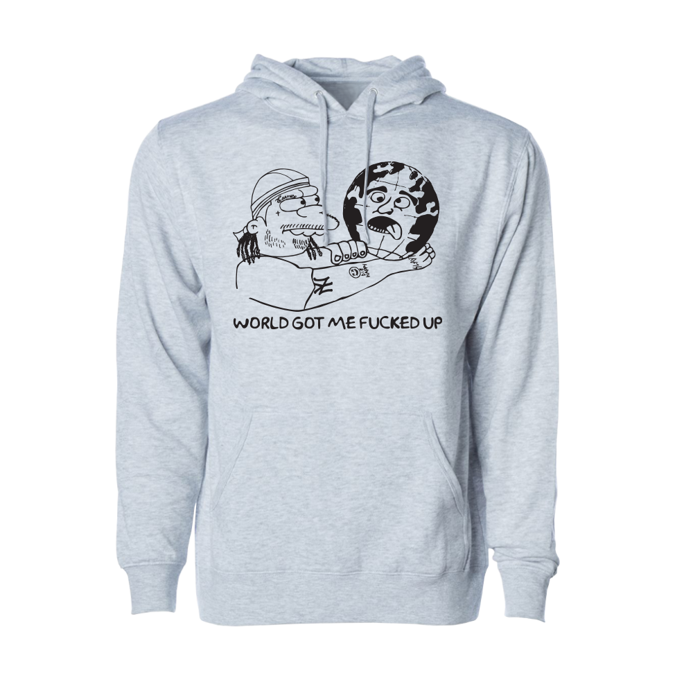 Nelsons World Heather Hoodie