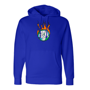 World on Fire Royal Hoodie