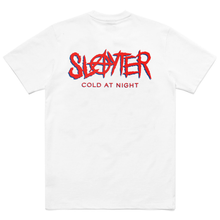 Load image into Gallery viewer, SLAYTER X CARROTS WHITE/RED TEE