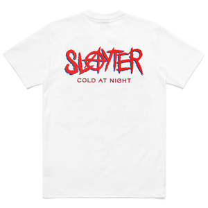 SLAYTER X CARROTS WHITE/RED TEE