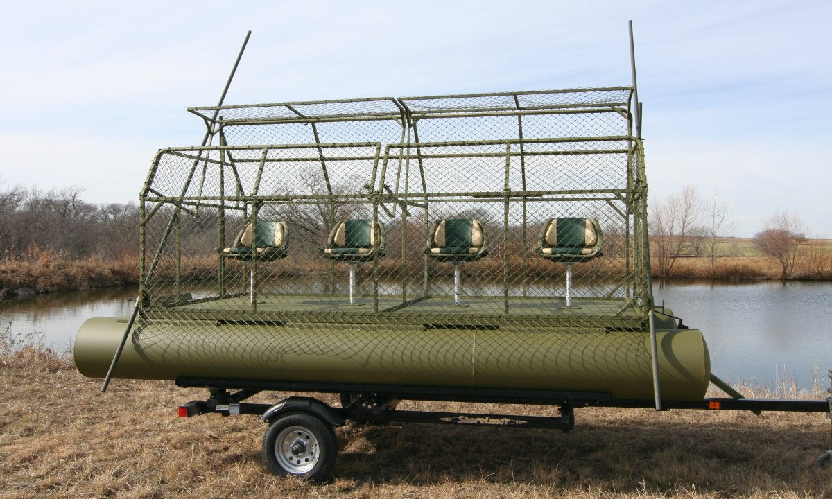 Duck Buster Hunting Boat