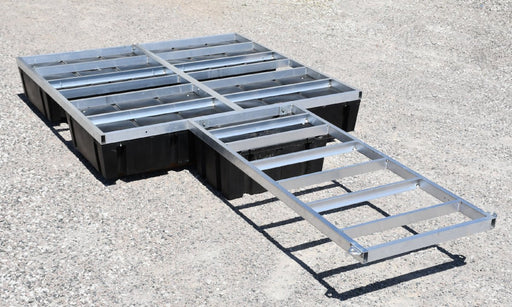 Floating Dock Kit Aluminum Tubing Frame with Floats