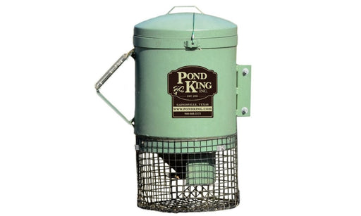 Mounted Fish Feeder