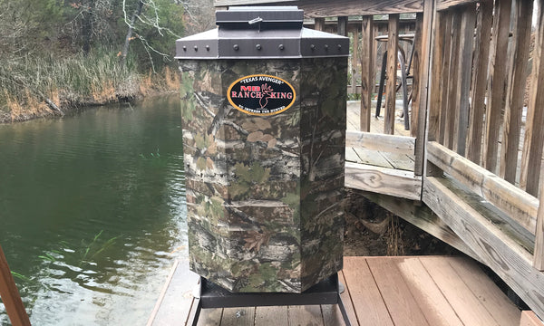 Texas Avenger Fish Feeder