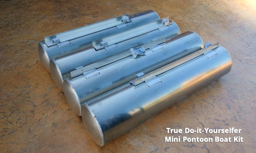 DIY Mini Pontoon Boat Kit