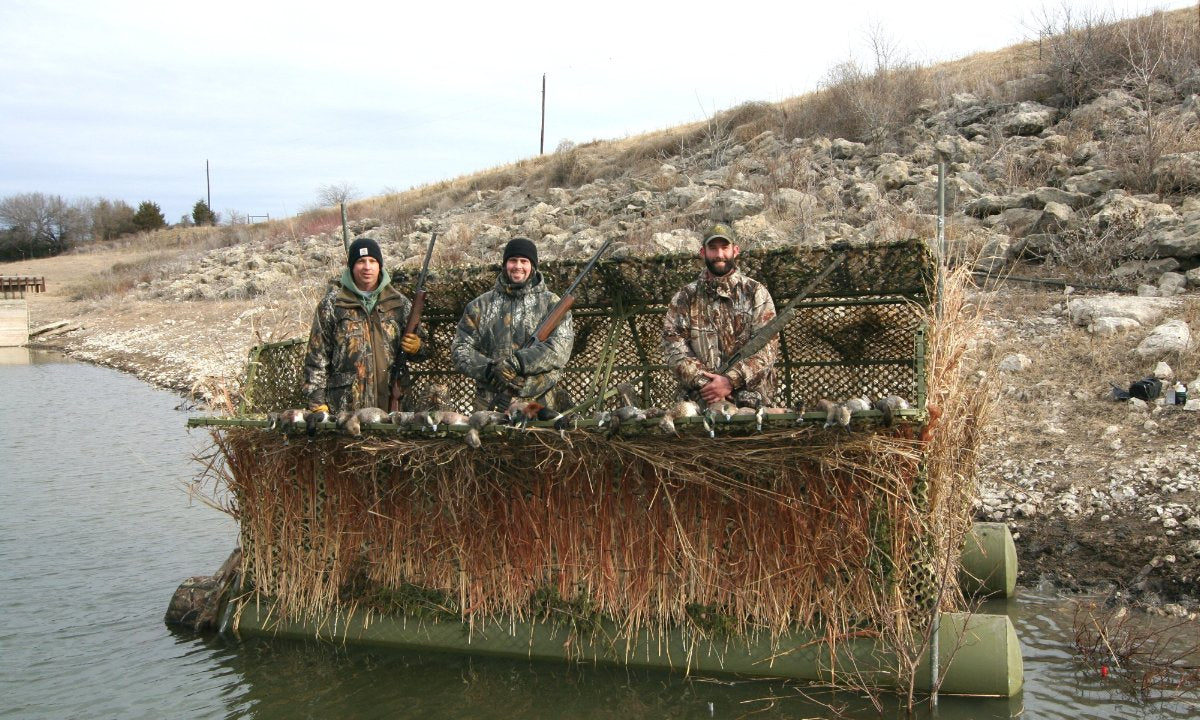 Hunting Duck Blinds Duck Buster Duck Hunting Boat