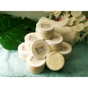 Honey B's 100% Natural Emulsifying Shea Butter Body Polish: Spa Grade Exfoliant