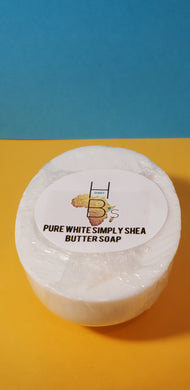 Honey B's Pure White Simply Shea Butter Soap