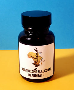 Mfalme Moisturizing Black Soap Beard Bath