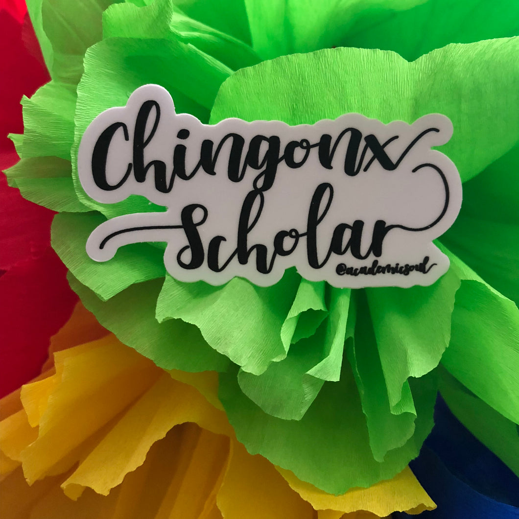 Chingonx Scholar Sticker