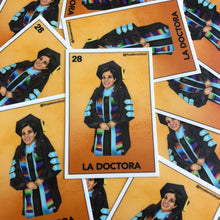 Academic Soul La Doctora Lotería Sticker