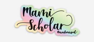 Academic Soul Mami Scholar Sticker