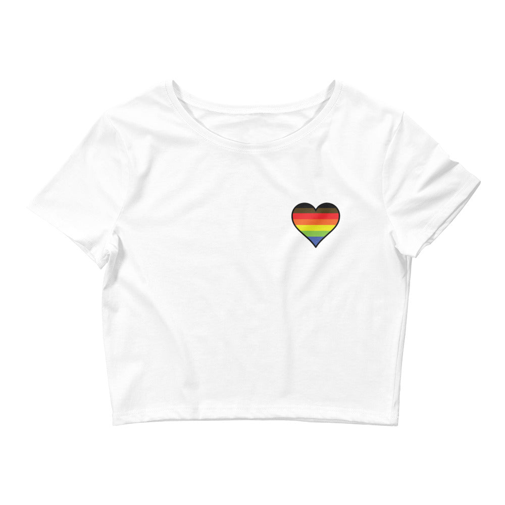 Academic Soul Heart Pride Crop Tee