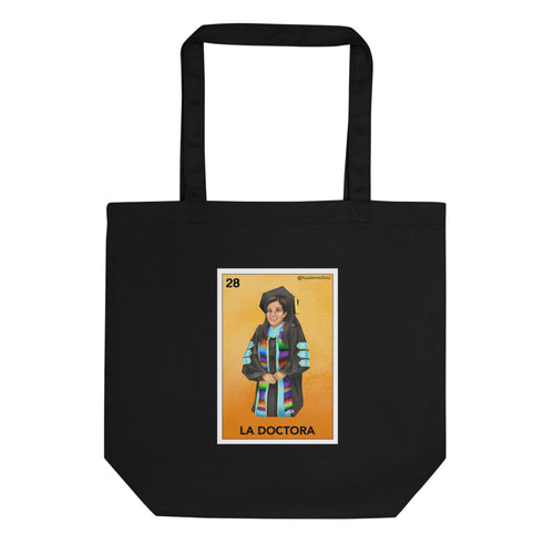 Academic Soul La Doctora Lotería Eco Tote Bag