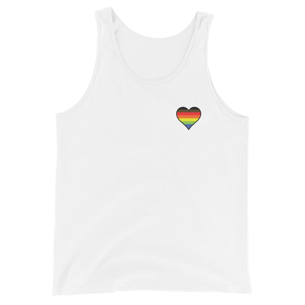 Academic Soul Queer Scholar Unisex Tank Top