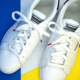 Lacets coton sneakers blanc et rouge - Made in France - Petit-détail.ch