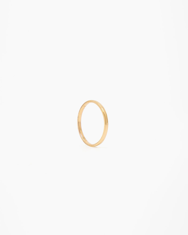 14k Gold Stacker Ring