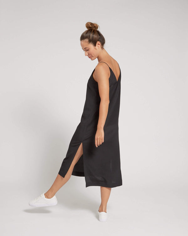 Premium Silk Slip Dress