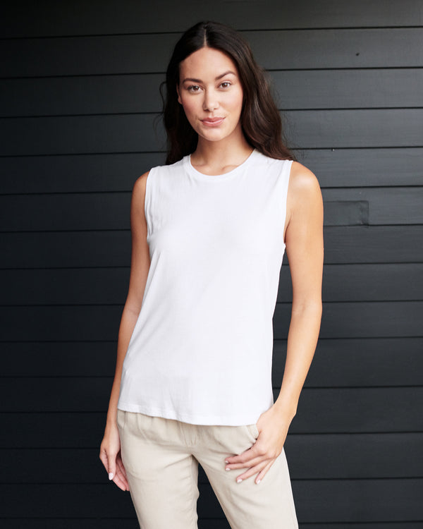 Cotton Modal Muscle Tank