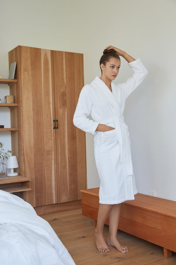 Luxe Turkish Cotton Bath Robe