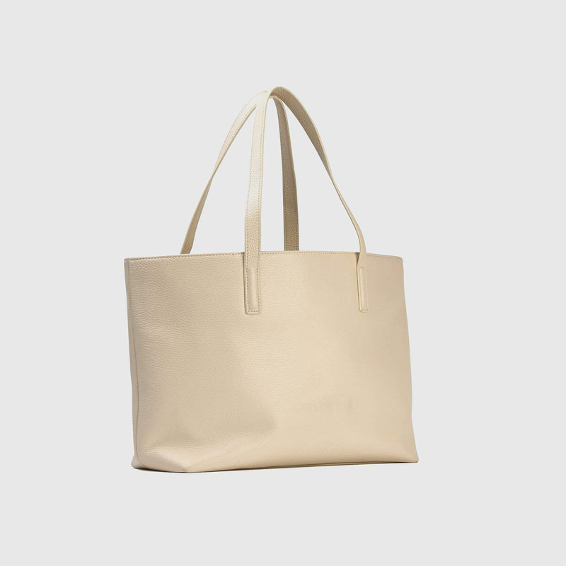 Classic Structured Leather Tote
