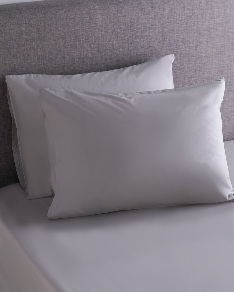 Organic Percale Luxe Fitted Sheet Set