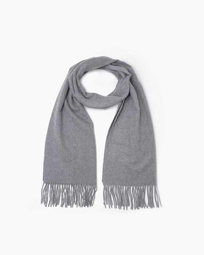 Mongolian Cashmere Woven Scarf