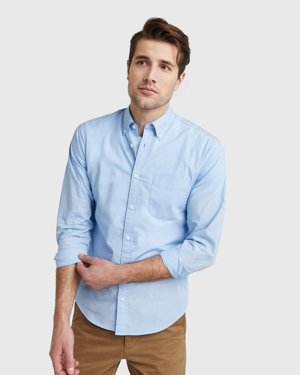 Organic Long Sleeve Stretch Shirt