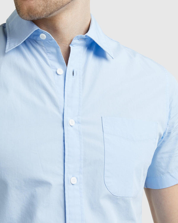 Organic Short Sleeve Stretch Shirt